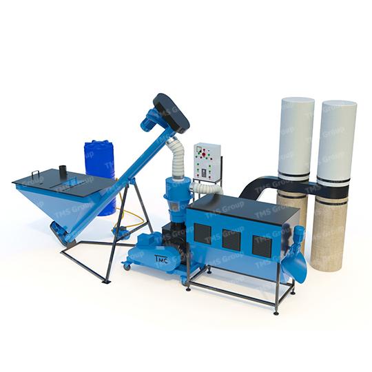 Linia do produkcji pelletu LDG-2000 Kombi | 14 KW